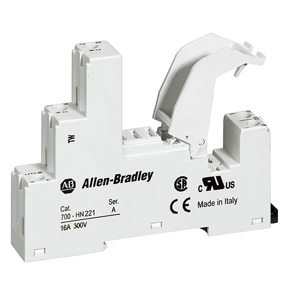 A-B 700-HN221 5 Blade Screw Terminal Relay Socket
