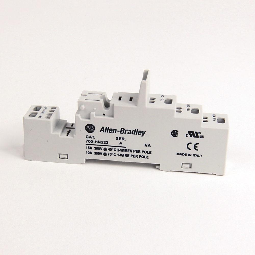 A-B 700-HN223 700-HK 1 Pole Spring Clamp TRM Socket