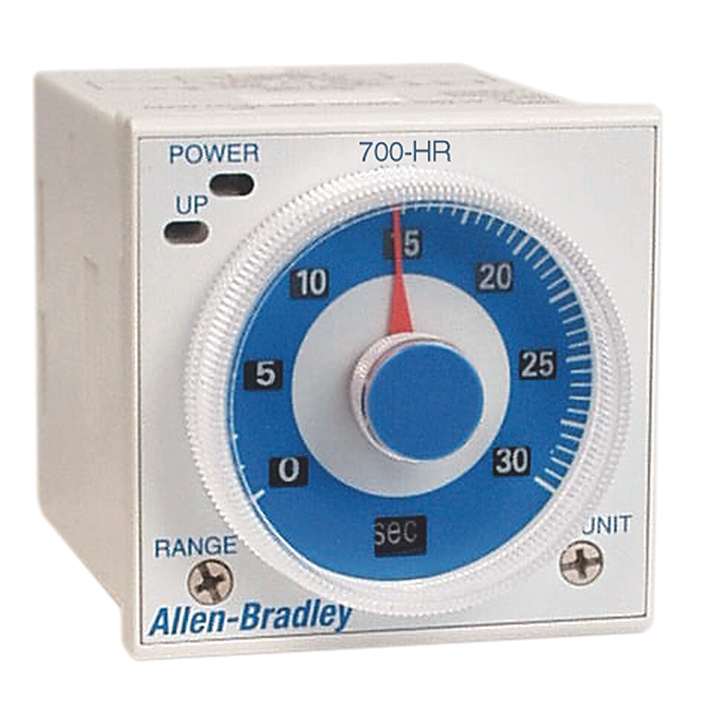 A-B 700-HRM12TA17 Tube Base Dial Timing Relay