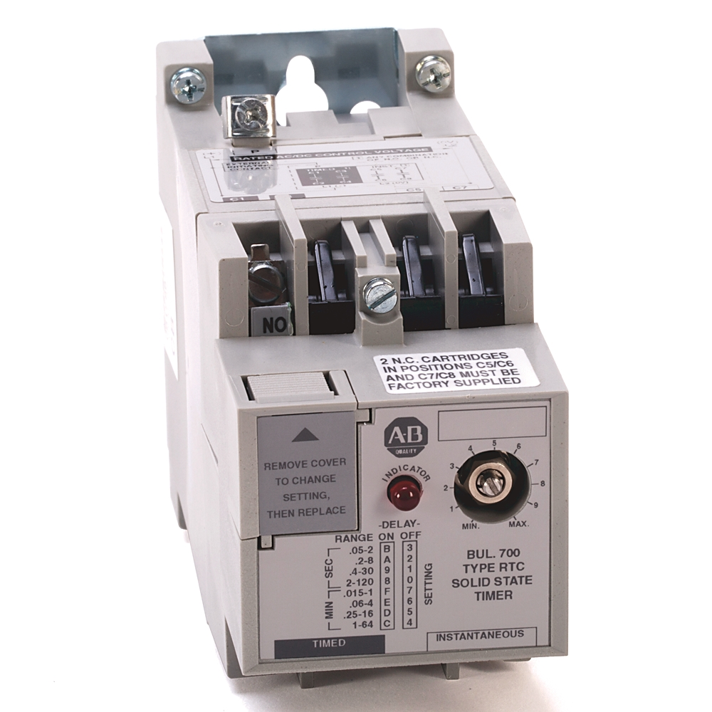 A-B 700-RTC00100U1 Solid State Timing Relay