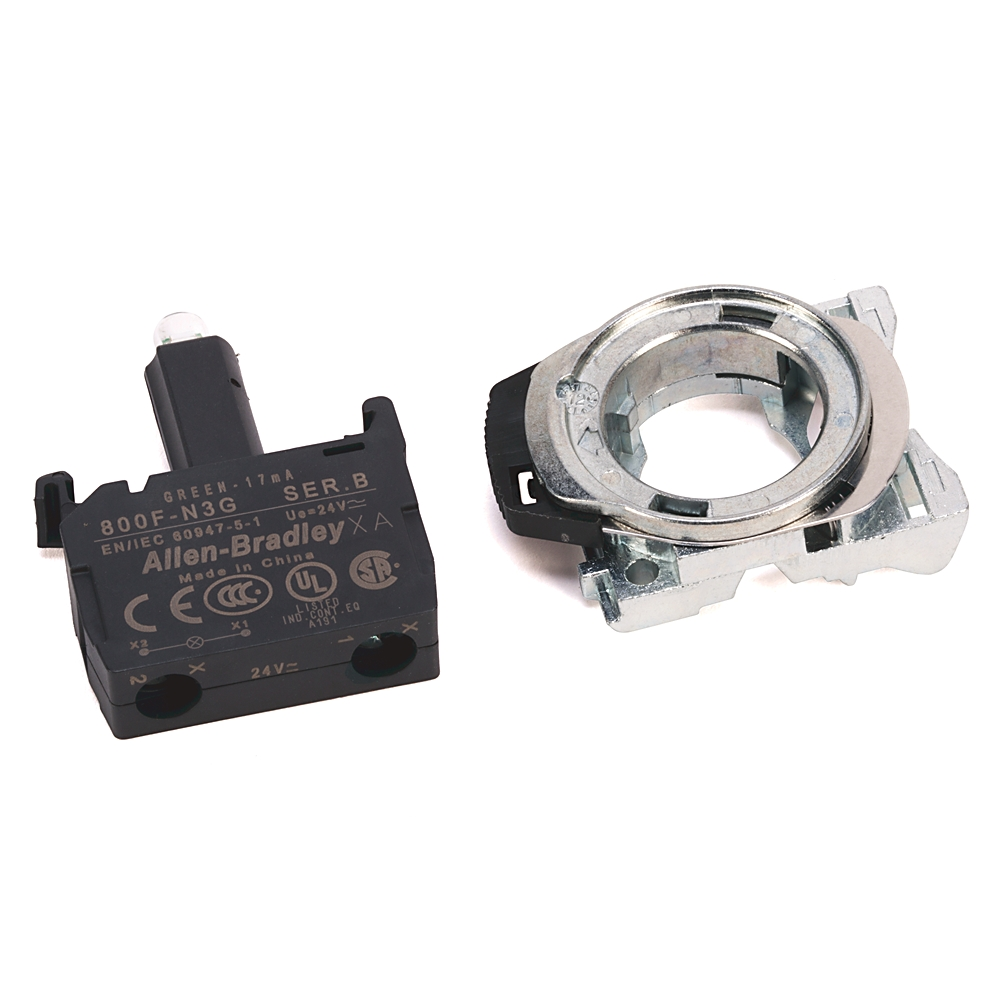 800F-MN3RX10 AB 800F LED MODULE WITH METAL LATCH 78118048360