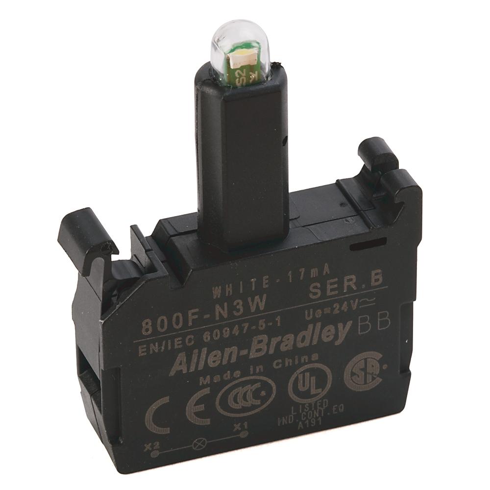 A-B 800F-N3W 22mm LED Module 800F PB