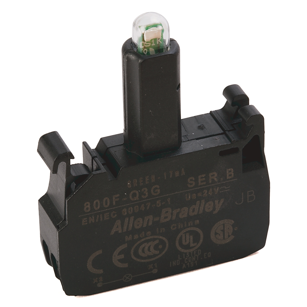 800F-Q3G AB 800F LED MODULE, LATCH MOUNT, SPRING-CLAMP 66246812043