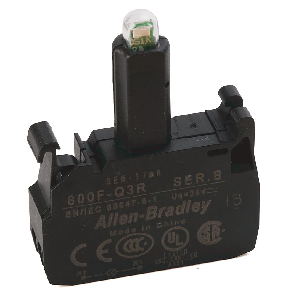 800F-Q3R AB 800F LED MODULE, LATCH MOUNT, SPRING-CLAMP 66246812044