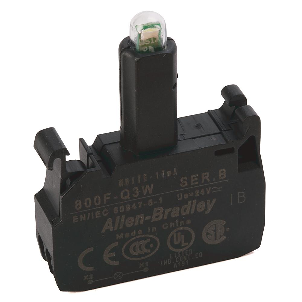 800F-Q3W AB 800F LED MODULE, LATCH MOUNT, SPRING-CLAMP 66246812045