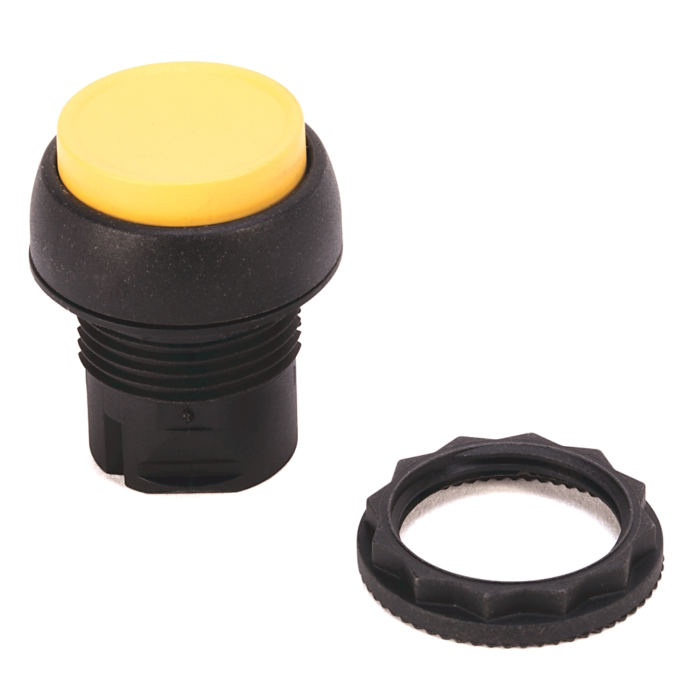 AB 800FP-E4 800F Push Button -Plastic, Extended, Red, No Legend,Standard Pack (Qty. 1)