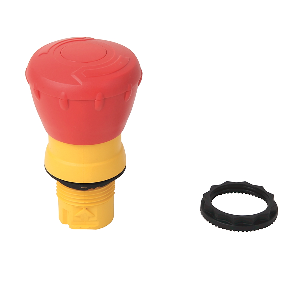 A-B 800FP-MT44PX02 22mm Twist To Release E-Stop 800F PB