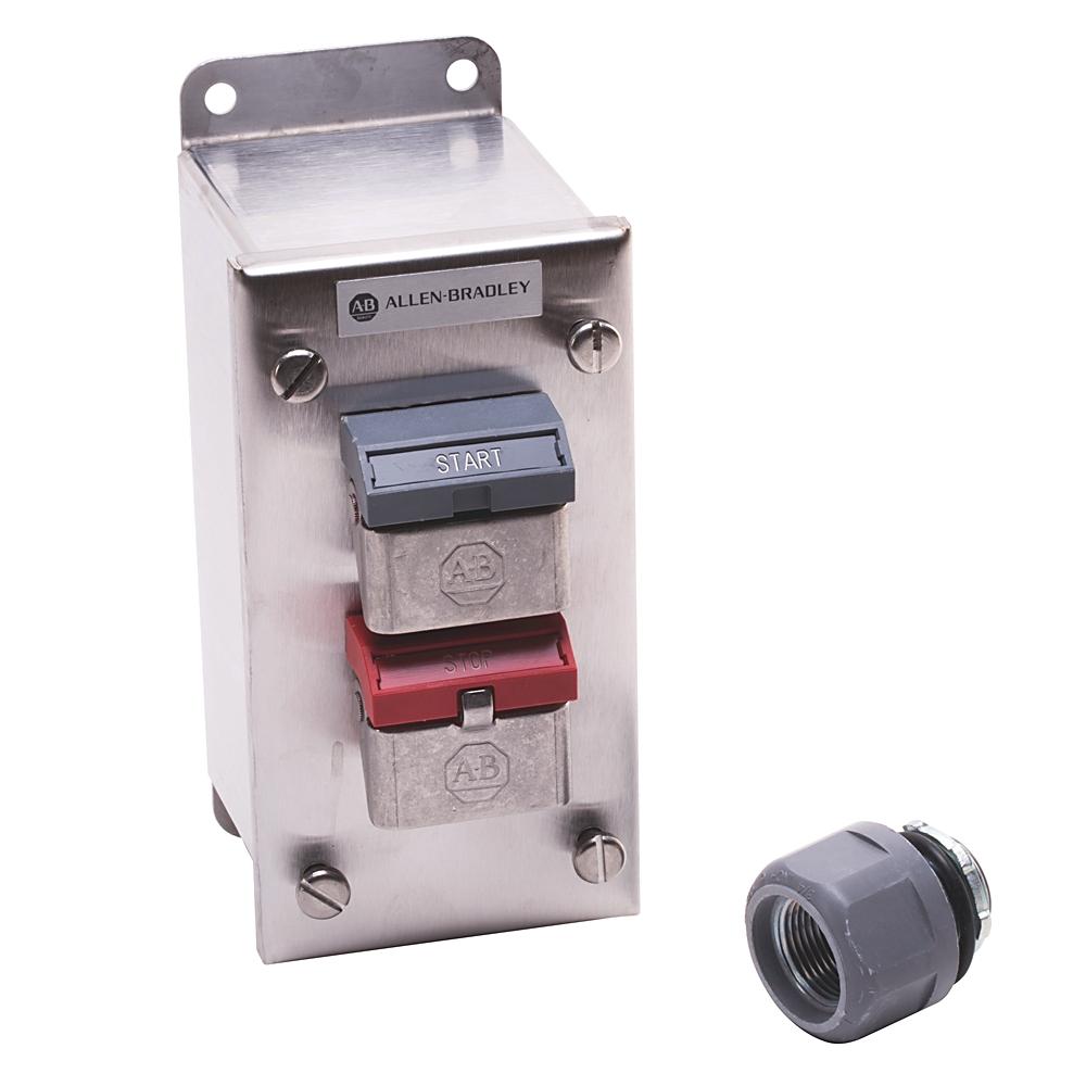 A-B 800H-2HA4T 30mm Push Button Station 800H PB