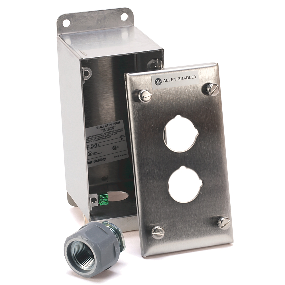 A-B 800H-3HZ4 30mm Push Button Enclosure 800H PB
