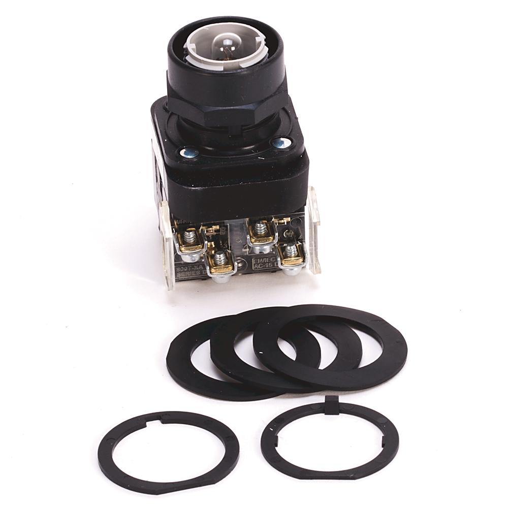 Allen-Bradley 800H-PRB16GD1 30 mm Momentary Push Button