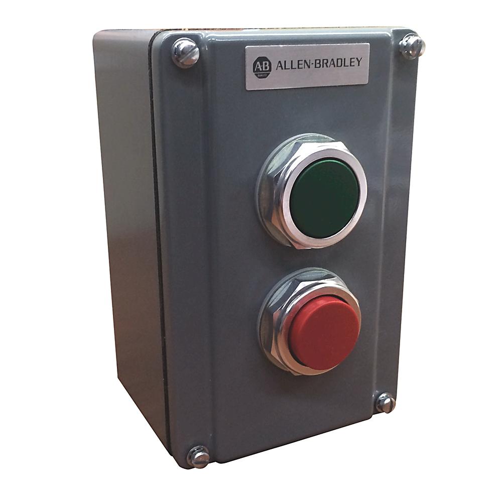 A-B 800T-2TA 30mm Push Button Station 800T PB