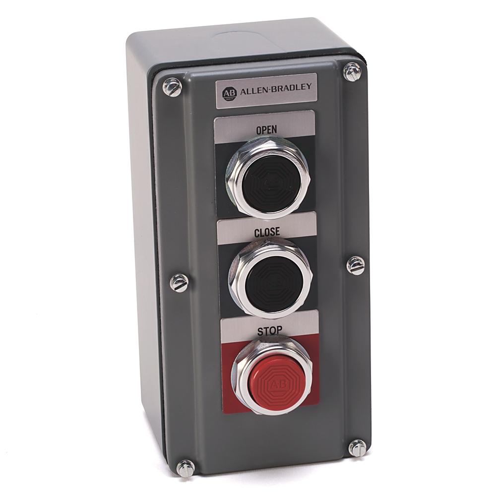 A-B 800T-3TD 30mm Push Button Station 800T PB