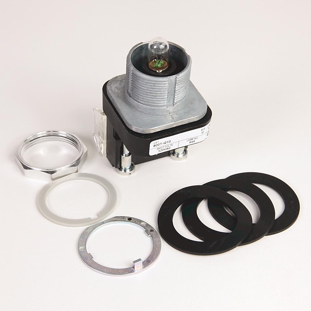 Allen-Bradley 800T-Q10C 30 mm Pilot Light Push Button