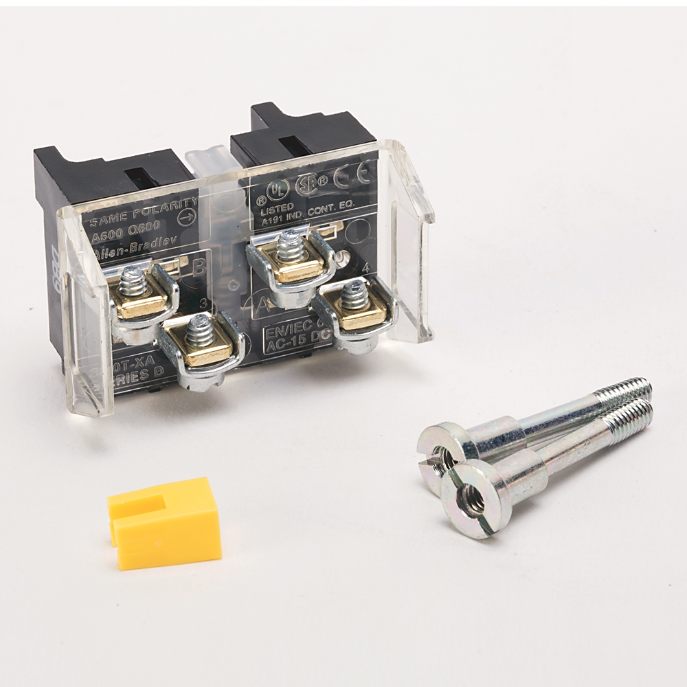 A-B 800T-XA7 30mm Contact Block 1-NC 1-NCLB 800T PB