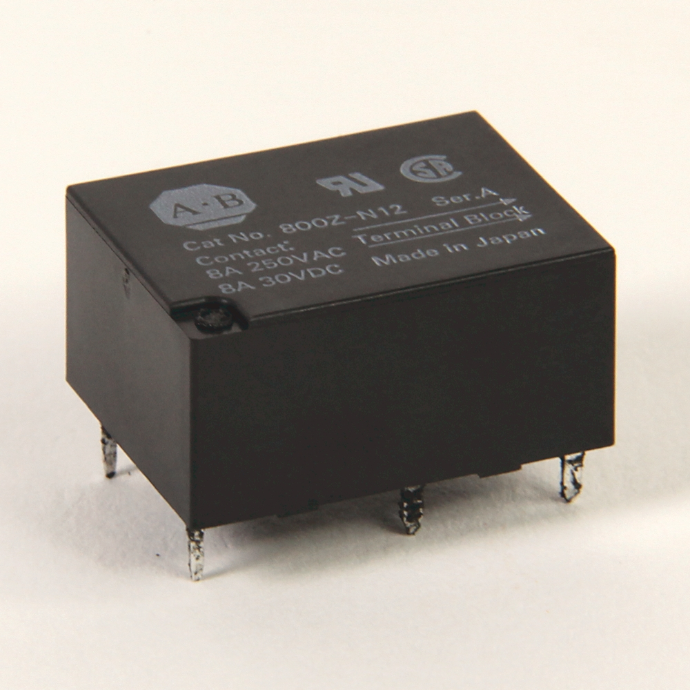 A-B 800Z-N12 Replacement Relay Accessory 800Z PB