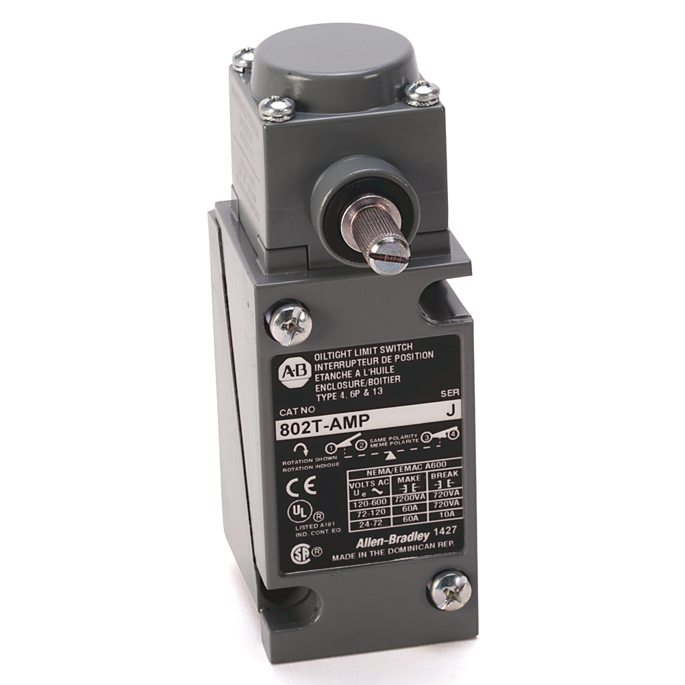 A-B 802T-NPTPE Plug-In Oiltight Limit Switch