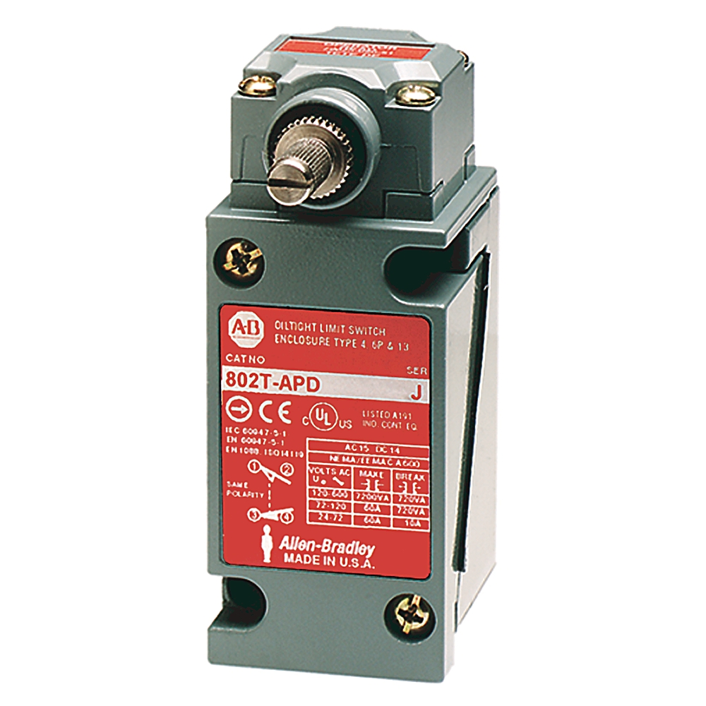 A-B 802T-APD Plug-In Oiltight Limit Switch