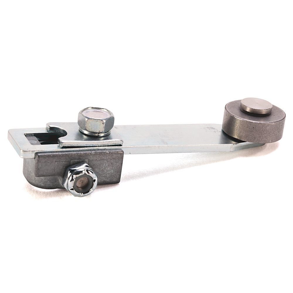 AB 802T-W2 Operating Lever, RollerLever, Adjustable, 1.19 to 3.0 In,Nylon, 0.75 In, 0.28 In