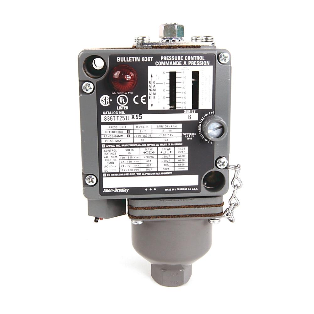 A-B 836T-T252J Electro-Mech Pres Control Switch