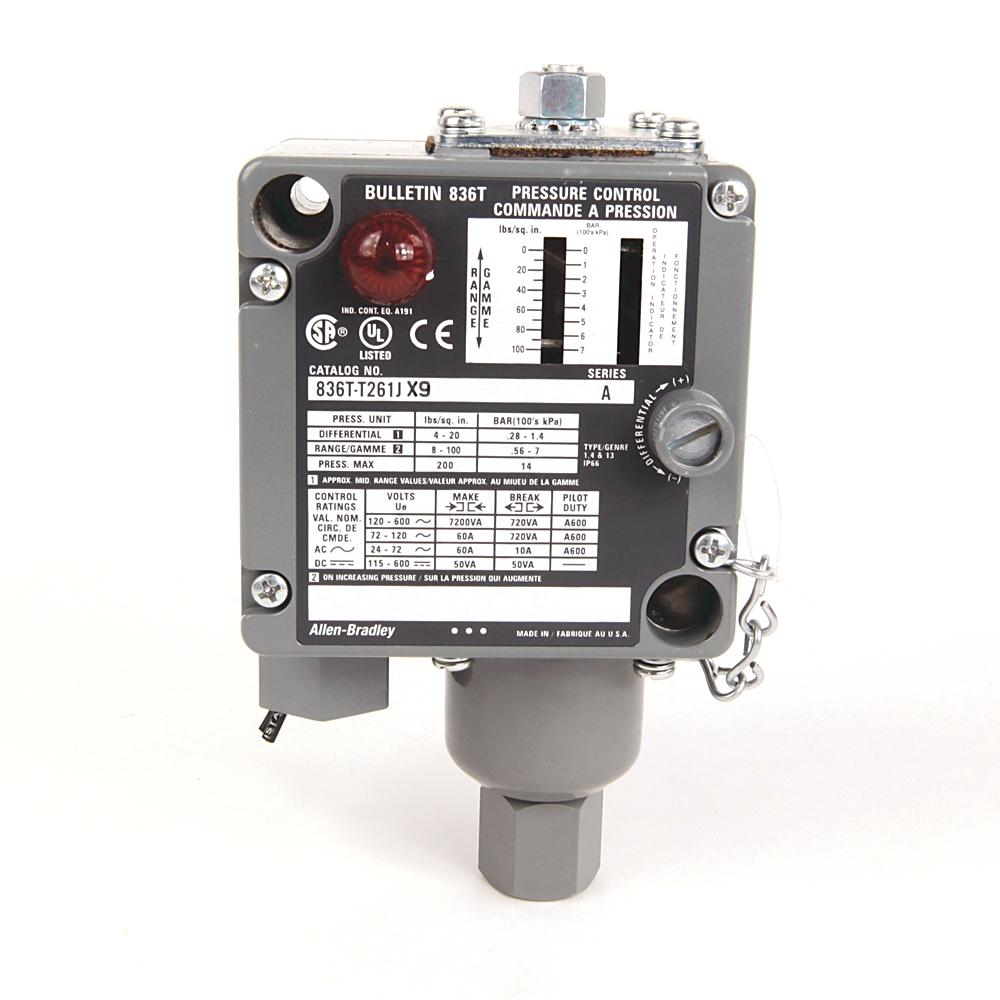 A-B 836T-T261J Electro-Mech Pres Control Switch