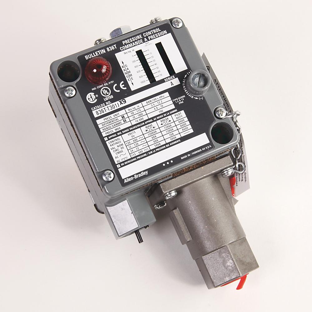 836T-T301J AB PRESS SW NEMA4 0-1000 PSI