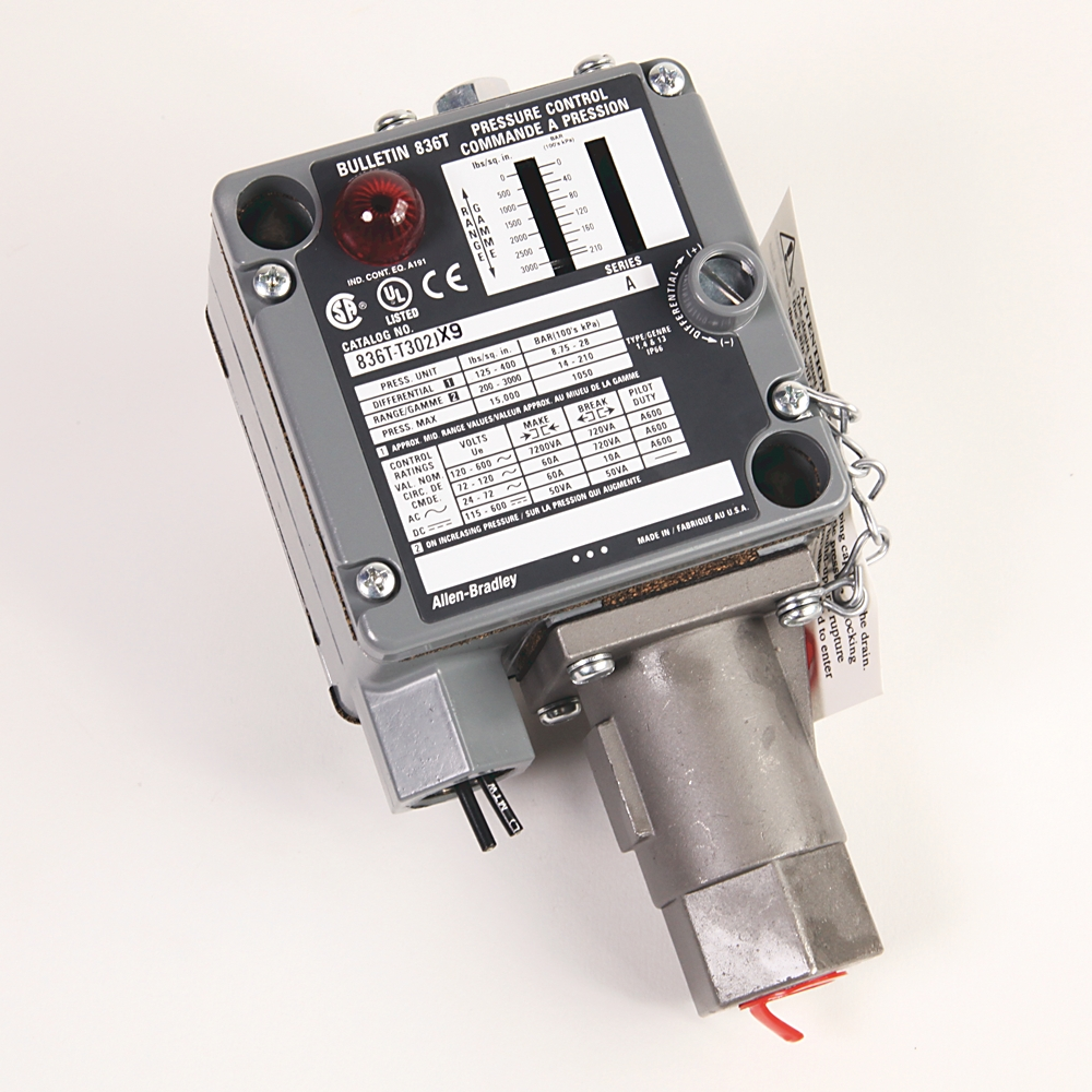 A-B 836T-T302J Electro-Mech Pres Control Switch