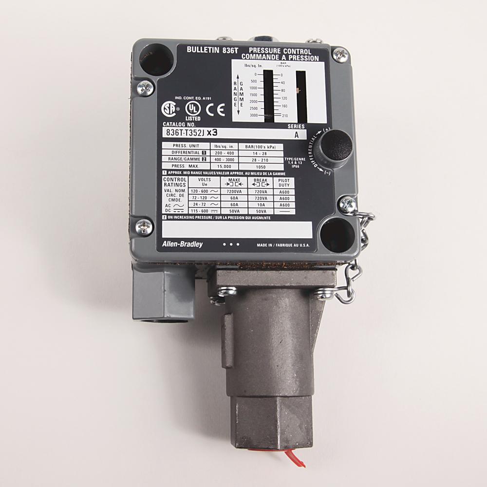 A-B 836T-T352J Electro-Mech Pres Control Switch