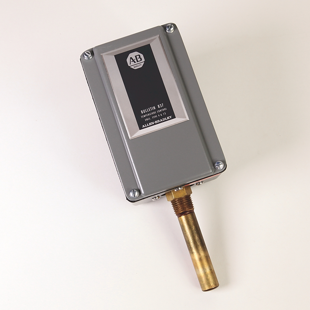 A-B 837-V3J Electro-Mech Temp Control Switch