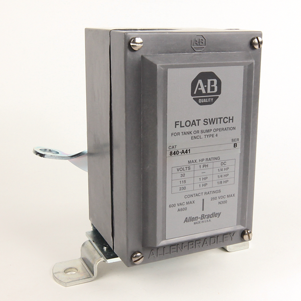A-B 840-A4 Electro-Mechanical 840 Float Switch