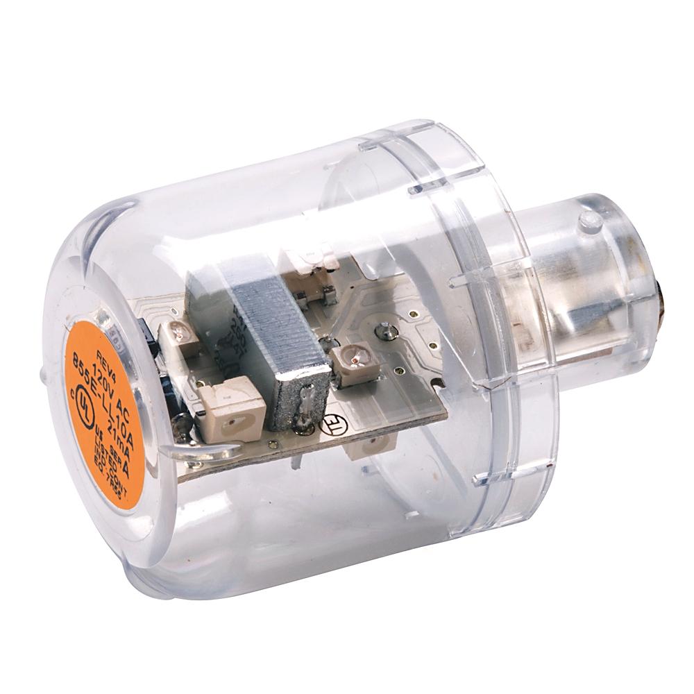 855E-LL24G AB TOWER LIGHT LED LAMP GREEN 24VAC/DC