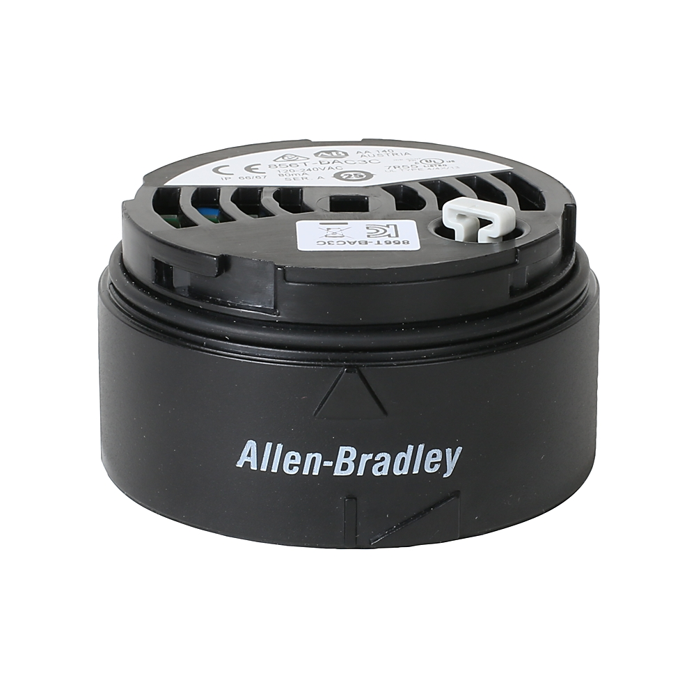 AB 856T-BAC3C Power Module 70 mm Stack Light