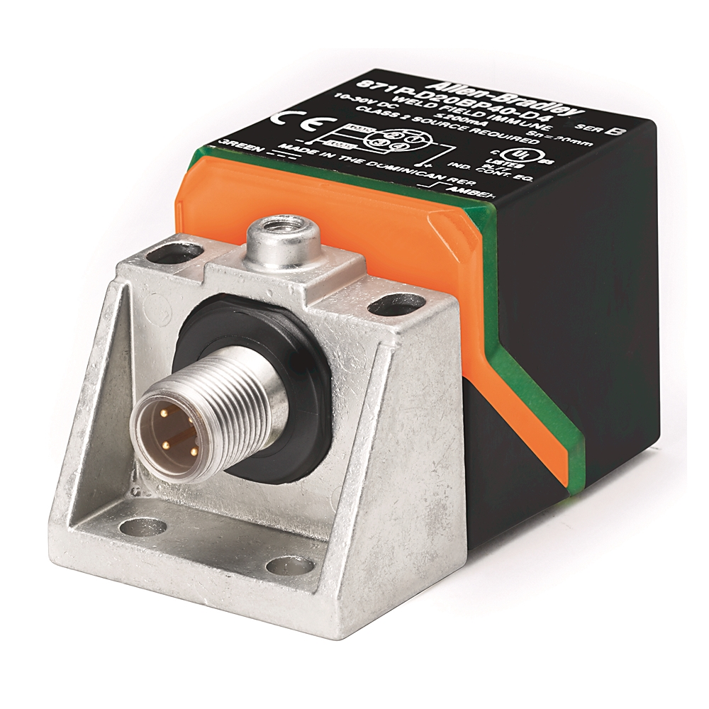 A-B 871P-D20BP40-D4 Rectangular Inductive Sensor