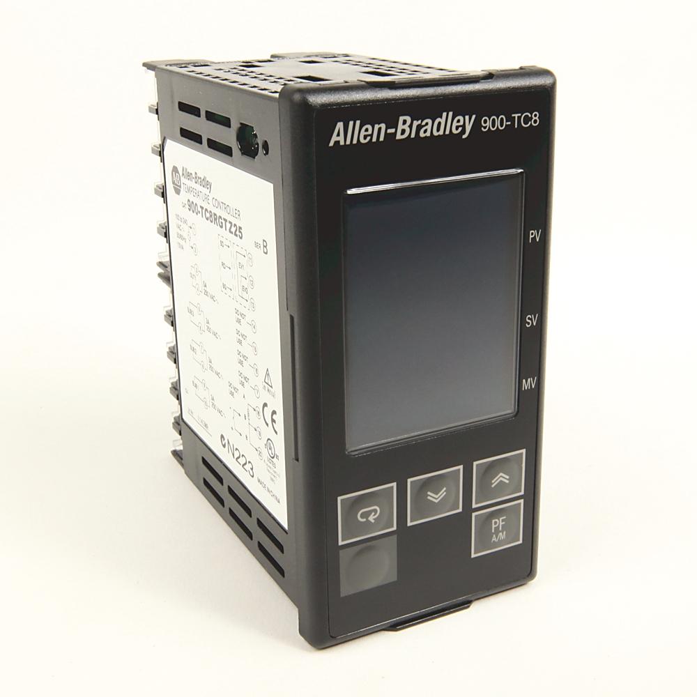 A-B 900-TC8RVGTZ25 1/8 DIN TEMP IN & EMR & 2
