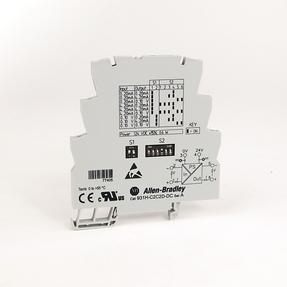 931H-C2C2D-DC AB SIGNAL CONDITIONER ACTIVE CONVERTOR 3 WAY