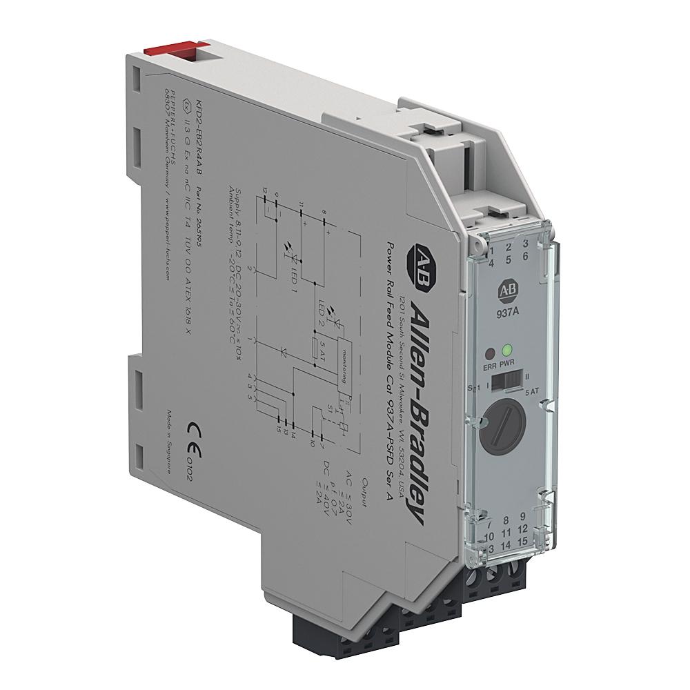 937A-PSFD AB POWER RAIL FEED MODULE