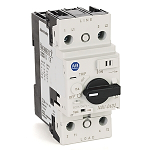 A-B 140U-D6D2-C15 Circuit Breaker 2-Pole 15 A UL 489